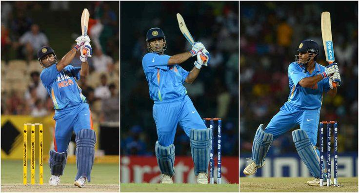 Incredible batting: : Mahendra Singh Dhoni batting moments...
