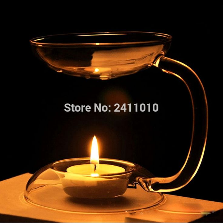 European Crystal  Aroma Candle Oil Burner Hold Tealight Glass Candle Holder Candlestick Party Wedding Home Christmas Decoration
