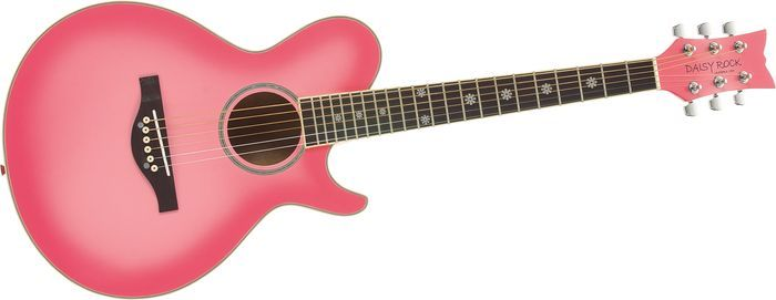 Daisy Rock guitar. Got this for my daughter. Now if only she'd practice. =)