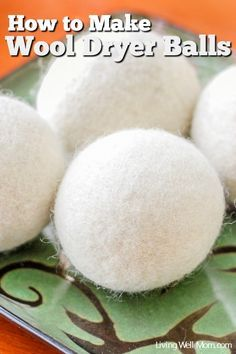 Did you know that wool dryer balls can decrease drying time? That's right; this simple DIY project can help reduce your electric bill! Check out this simple tutorial for how to make homemade Wool Dryer Balls. It's so easy, the kids can help!