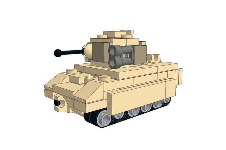 Download the LEGO Bradley M2 IFV MOC on our website!