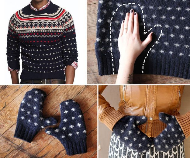 Riutilizzare i maglioni di lana in 25 idee creative - Ispirando