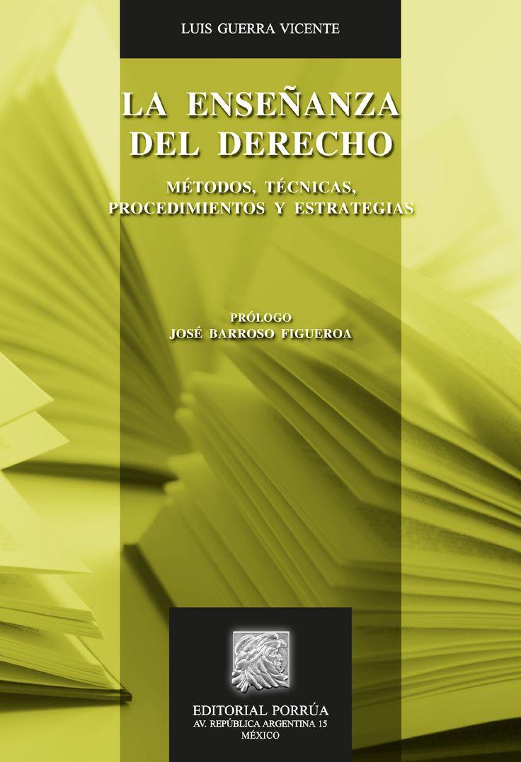 La presente obra está dirigida a los profesores que se dedican a la impartición de la enseñanza del Derecho.Cada uno de los temas contenidos en los capítulos se desarrolla de forma clara y precisa, empleando, a lo largo de la obra, una metodología didáctica y procedimientos adecuados para la enseñanza de la ciencia jurídica.