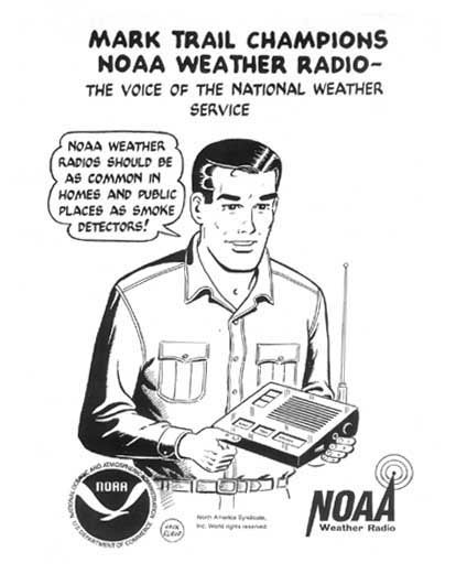 """Every home needs an NOAA Weather Radio so you won't miss the warnings. And good smartphone apps designed to pass along severe weather warnings are a great alternative, like My Warn or Weather Radio.""  — James Spann, award-winning meteorologist for ABC 33/40 in Birmingham, Ala."