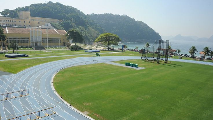 This is #England's training ground in Rio de Janeiro. Nice view! #ComeOnEngland