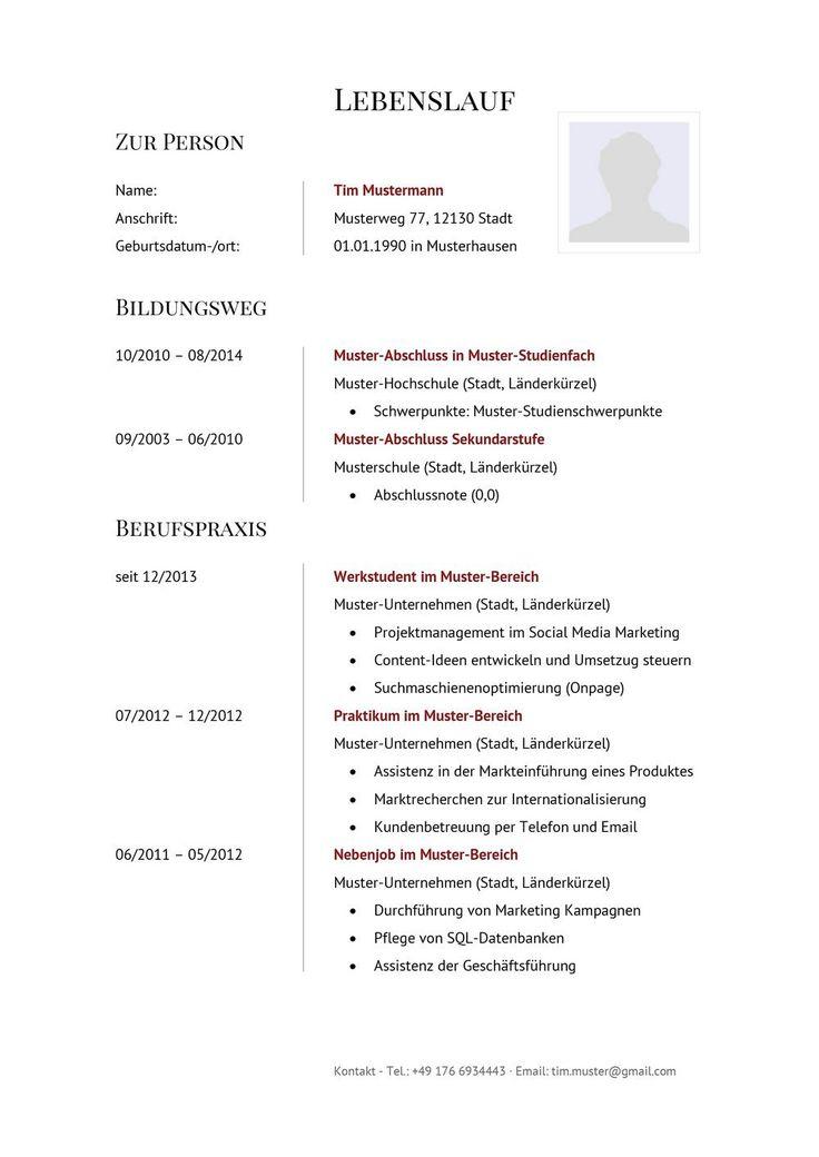 Lebenslauf Muster für Verkäufer | Lebenslauf Designs