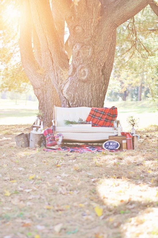 Cozy  Holiday+ Rustic Vintage Winter Inspiration // Rentals + Styling by Stockroom Vintage event rentals in Nashville, TN // Photos by Anteb...