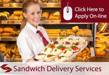 self employed sandwich delivery services  liability insurance
