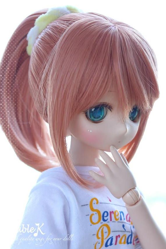 DollfieDream DD SD 1/3 Ponytail wig 23cm 13 Colors in stock
