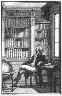 Talrijke fraaie kasteel- en buitenhuisbibliotheken zijn ontworpen door de beroemde Britse architect Robert Adam (1728=1792), naamgever van de Adamstyle. Een van de laatste grote architecten op dit gebied was sir. Edwin Lutyens (1869-1944), ontwerper van o.a. Castle Drogo, Abbey House in het graafschap Devon met een grote bibliotheek.