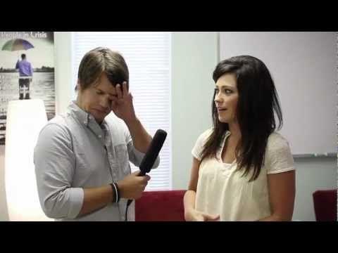 AWKWARD INTERVIEWS with Kari Jobe - YouTube
