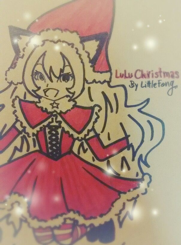 LuLu Christmas LULU LOL league of legends  By LittleFang