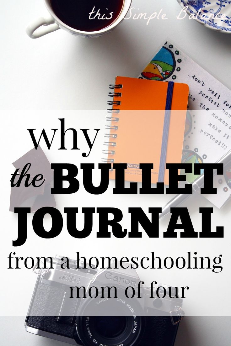 The bullet journal is the perfect planner. You can adapt it to your own needs and purposes. It can also be a great way to keep records for your homeschool, especially if you are unschooling.