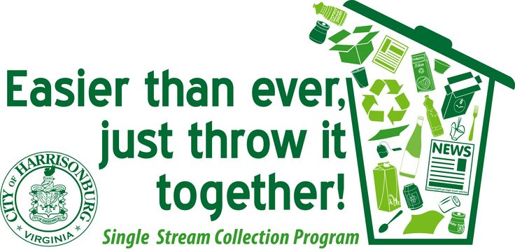 """Harrisonburg is leading the efforts with an """"all in one"""" system for waste and recycling collection."""