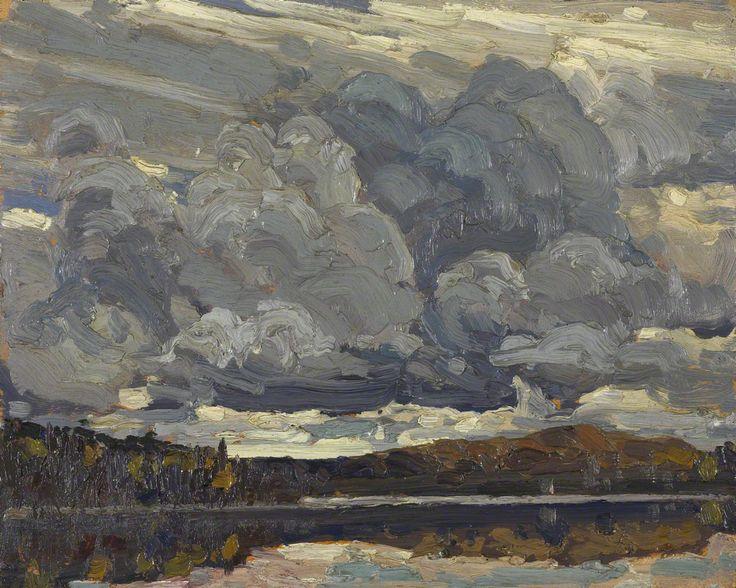 Tom Thomson - Grey Sky 1914