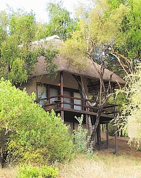 Nyati Safari Lodge - Kruger Nationalpark, Sydafrika.