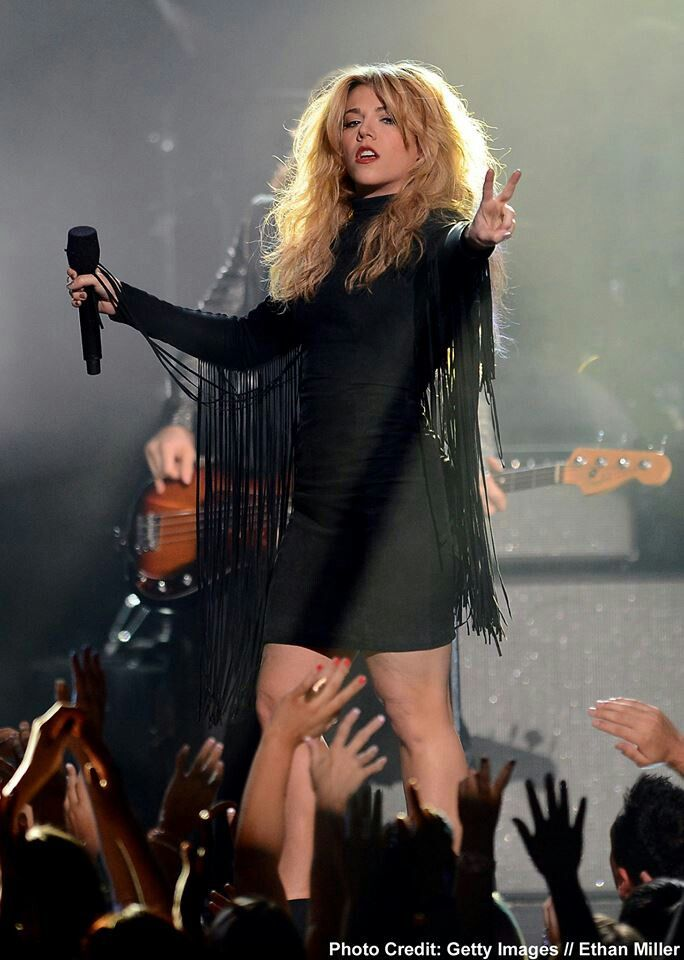 Kimberly Perry of the band perry. She has some amazing vocals and I love her writing.