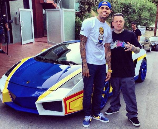 "Chris Brown remixes a Lamborghini with West Coast Customs into ""El Toro""   Motoramic - Yahoo! Autos"