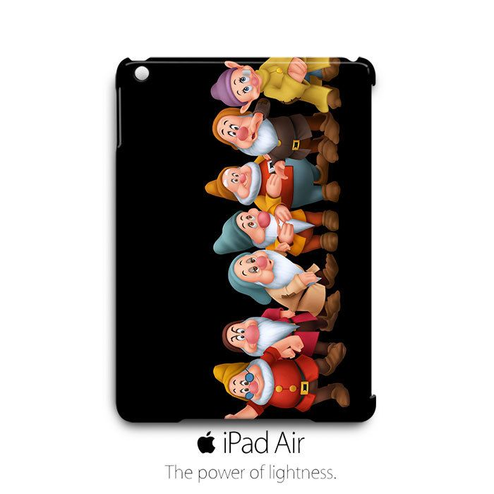 Seven Dwarfs iPad Air Case Cover Wrap Around