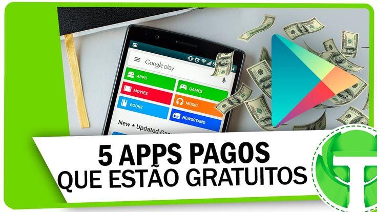5 Apps pagos que estão gratuitos na Google Play | Melhores da semana #4http://bit.ly/2iyErnK