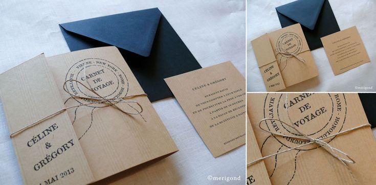 Faire-part mariage carnet de voyage 147_2014