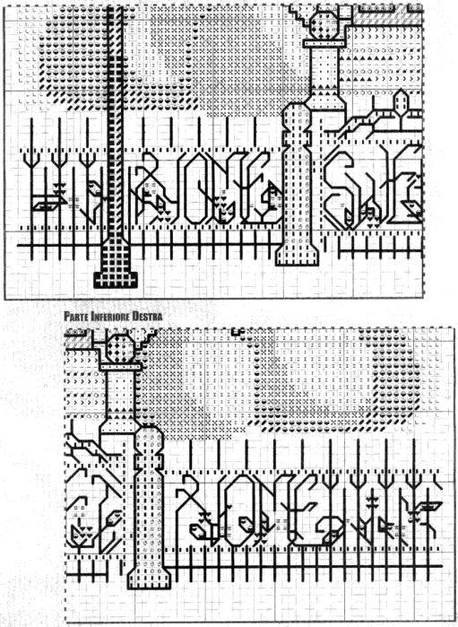 victorian cross stitch instructions