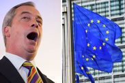 """The Express has taken a strong position in supporting anti-EU sentiments in their articles; the most eurosceptic of all 9 major newspapers. The former editor, O'Flynn, ran as a UKIP candidate, winning his riding - influencing the Express more than ever. It has even devoted a number of articles to the UKIP's party leader Nigel Farage. By simply glancing at the Politics page online of the Express it doesn't take long to notice the trend of a familiar face and words such as """"EU"""" and """"exit""""."""