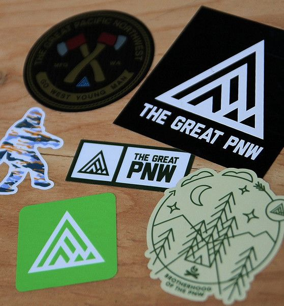 PNW Sticker Pack