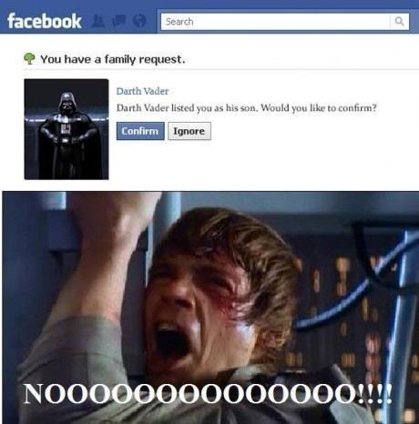 FB Darth Ha!