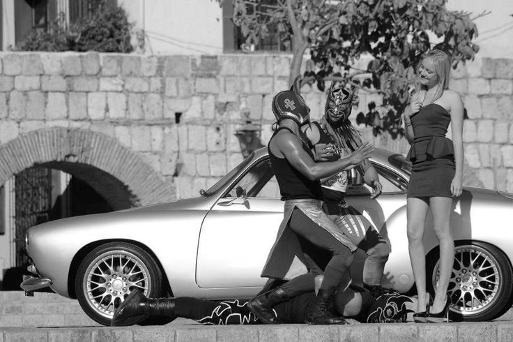 Karmann Ghia & Lucha Libre
