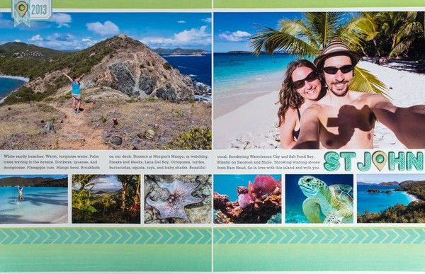 St. John vacation layout by smultringunn - Two Peas in a Bucket