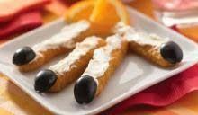 #Halloween Witch Finger Fish Sticks #recipe with Gorton's fish sticks