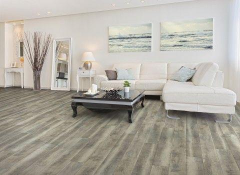 "US Floors: Coretec Plus HD - ""Mont Blanc Driftwood"" luxury vinyl plank flooring"