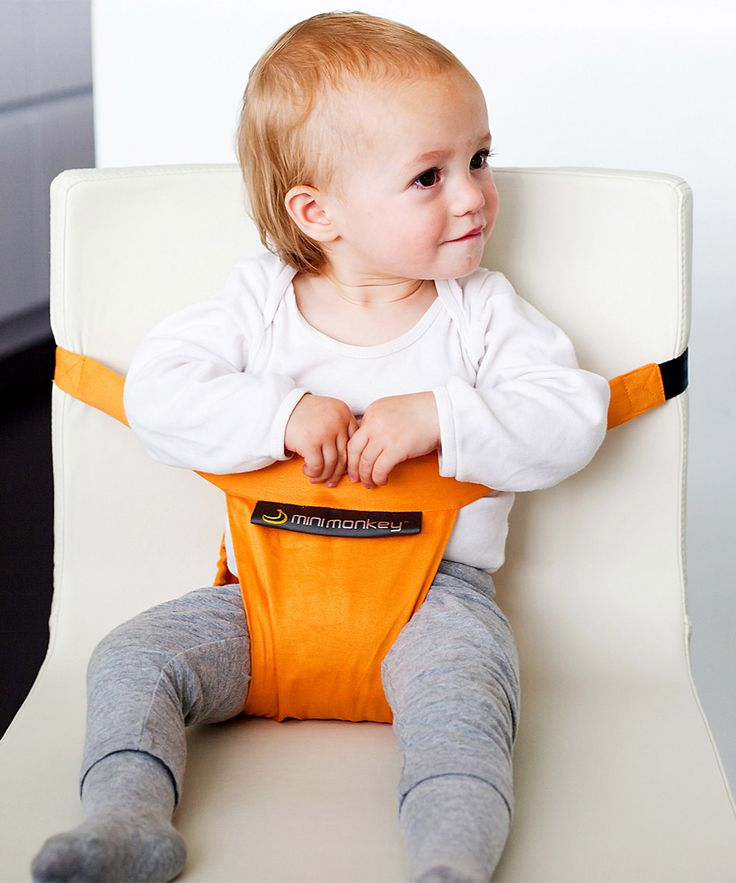 Feeding :: Toddler Feeding :: Baby Feeding Chairs :: Minichair - Orange - Lightweight, Compact & Portable -