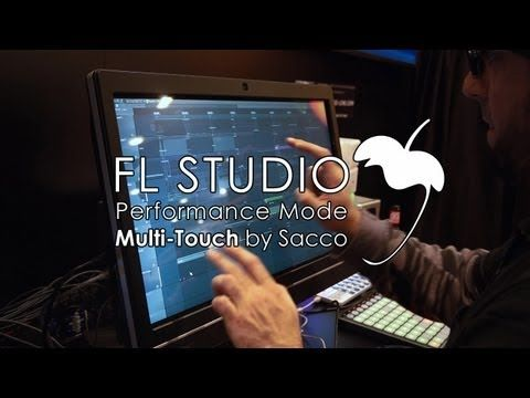 FL Studio 11 | Multi-Touch Performance