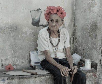 Lady in Havana, Cuba.   upintheairblog.com