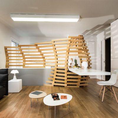 12 best claustra bois images on Pinterest Room dividers, Lounges - store bois tisse exterieur