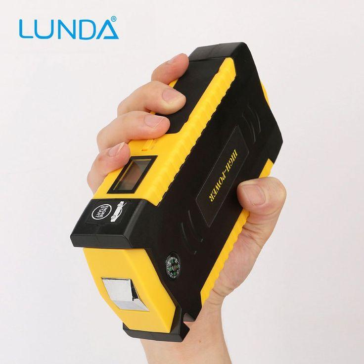 Promo offer US $46.74  LUNDA  4USB 19B Diesel Car jump starter   for car Motor vehicle booster Car batteres  battery discharge rate  power bank