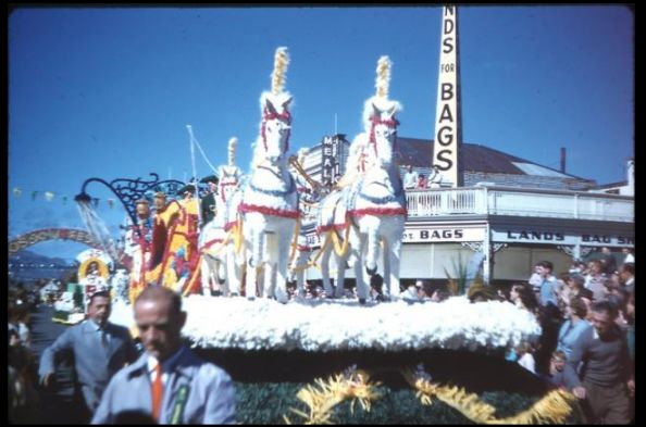 Vintage blossom festival photos Hastings, New Zealand