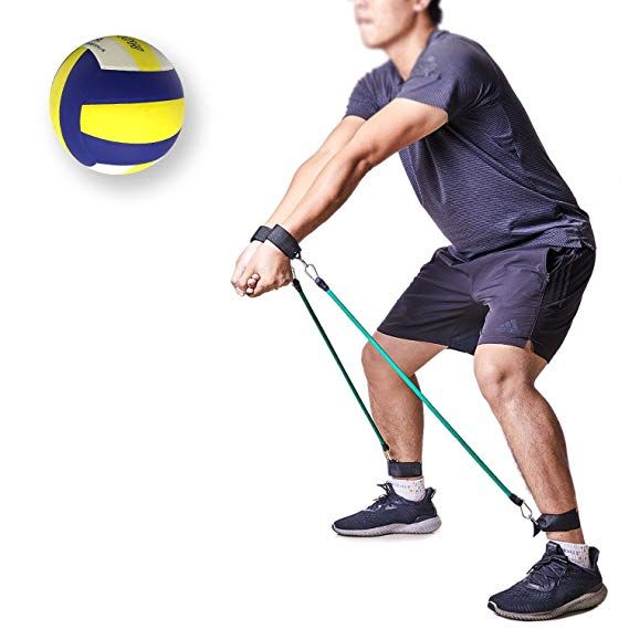 849b90e8077c9 Amazon.com : TopFan Volleyball Training Aid Resistance Band: Great ...