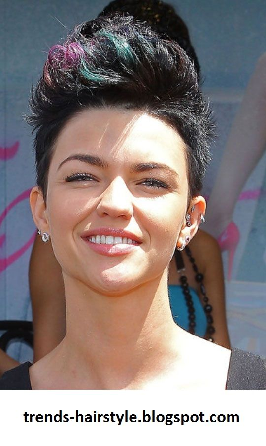 Faux Hawk Hairstyles For Women