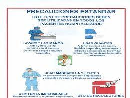 Resultado de imagen para tarjetas de precauciones estandar