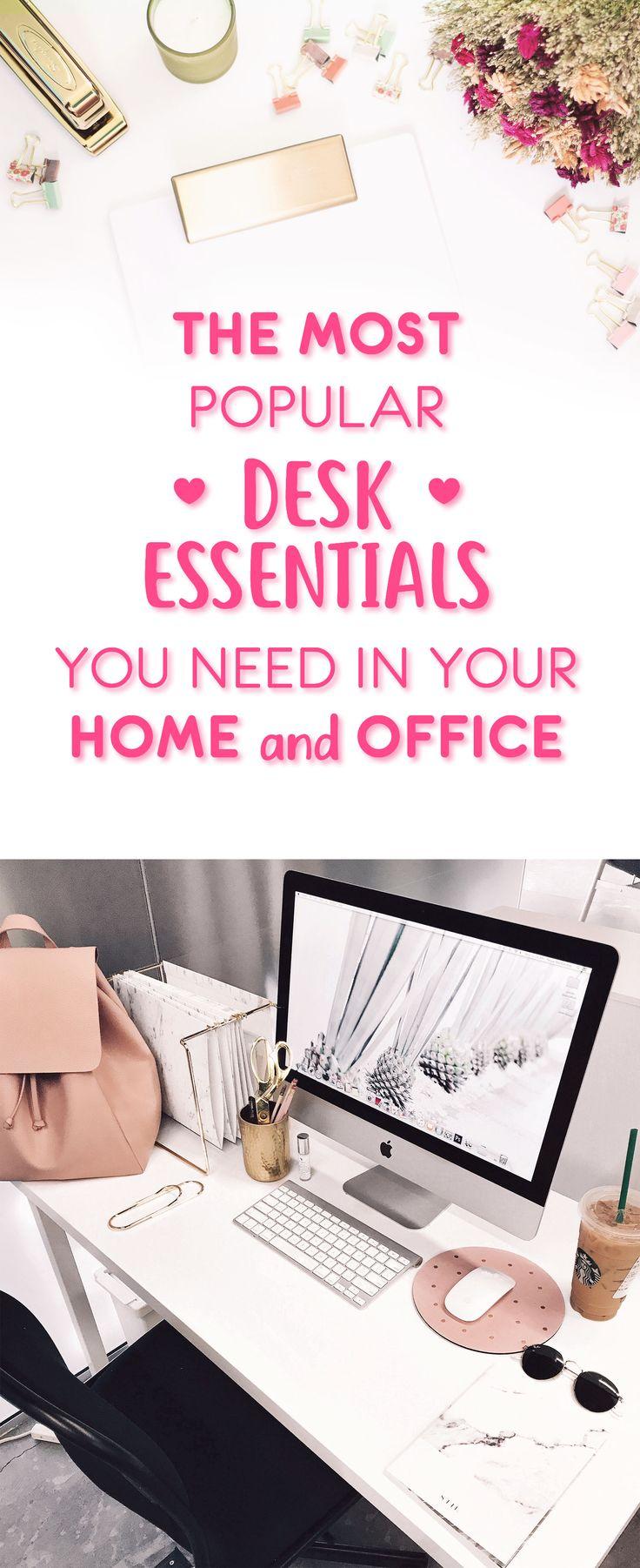 Best 25+ Desk essentials ideas on Pinterest | Desk supplies, Work ...