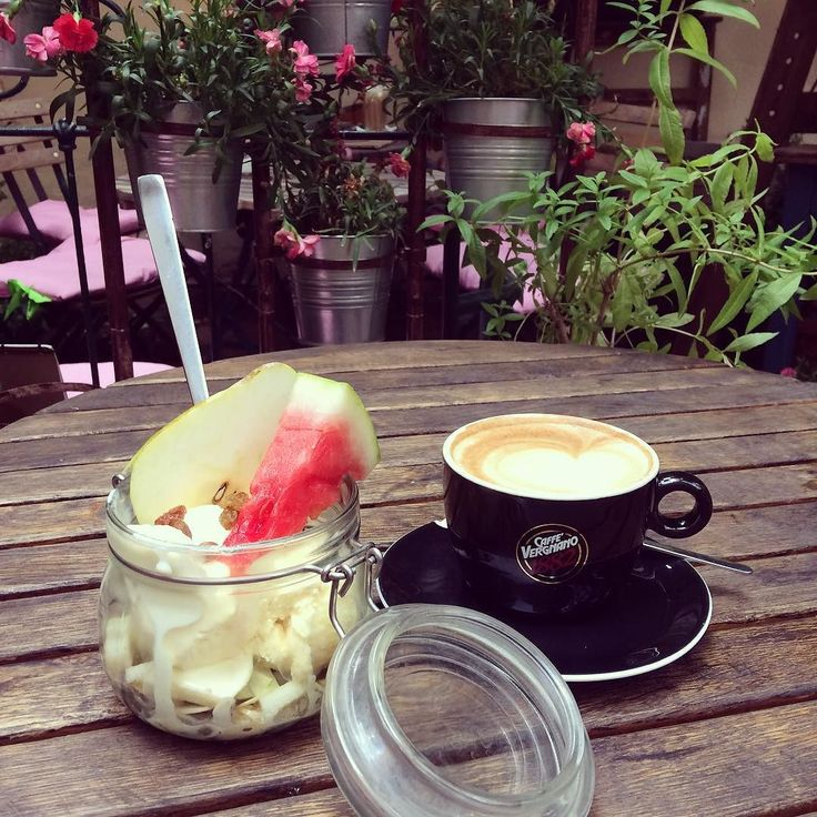 Sweet time in @werandafamily . . . #dessert #dessertlover #instadessert #icecream #watermelon #coffee #instacoffee #coffeegram #coffeetime #ineedcoffee #foodie #instafood #foodiegram #foodporn #foodielife