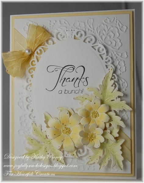 Yellow Daisy Thank You by rosekathleenr - Cards and Paper Crafts at Splitcoaststampers