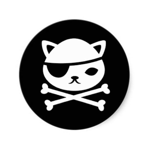 Kwazii Octonauts Pirate Flag Stickers For Telescopes