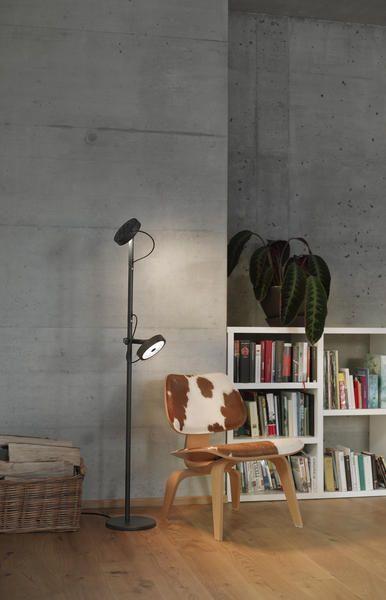 Belux - U-turn staande-/leeslamp #design #verlichting #lighting #Eikelenboom