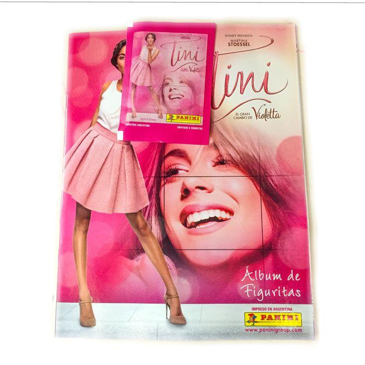 Nueva Colección Panini: Figuritas TINI