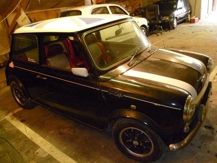Mini Cooper Monte Carlo Project SEE EBAY LISTING Classicmini Projectcar Rovermini CarloBlack BarnFind CarsRetro