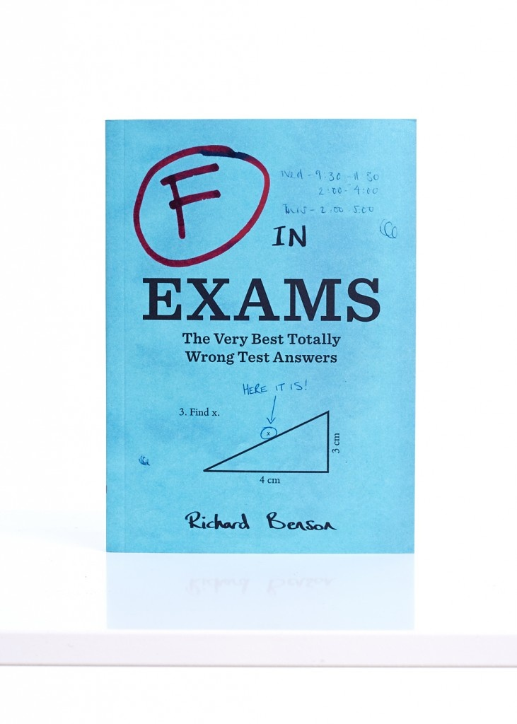 Funny Book Gifts Ideas - F in Exams: The Very Best Totally